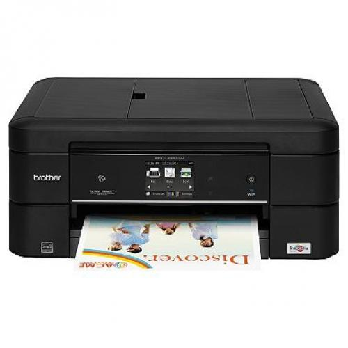 Brother MFC-J880DW WorkSmart Inkjet All-in-One Color Inkjet Printer (pak of 2)