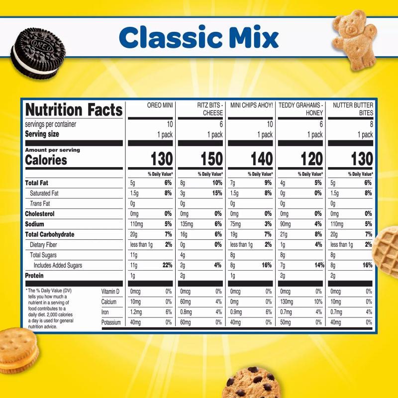 Nabisco Classic Mix Variety Pack (40 pk.)