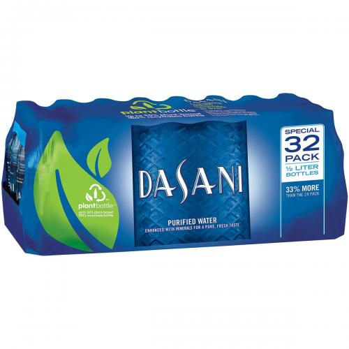 Dasani Purified Bottled Water (16.9 oz., 32 pk.)