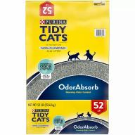 Purina Tidy Cats Non-Clumping Cat Litter for Multiple Cats (52 lbs.)
