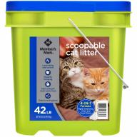 Member's Mark 4-in-1 Formula Scoopable Cat Litter, 42 lbs.
