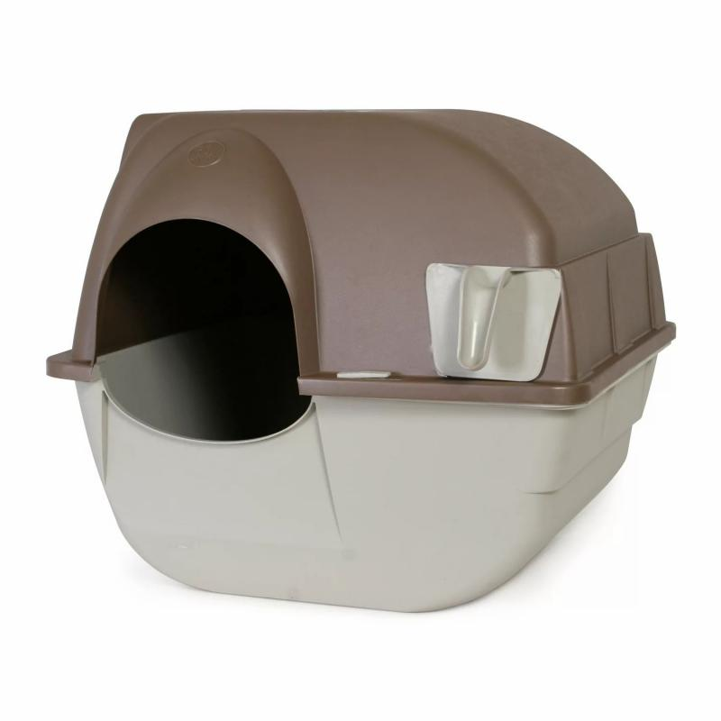 Omega Paw Roll 'n Clean Self Cleaning Litter Box (Regular)