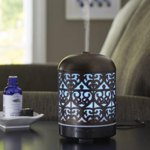 Better Homes and Gardens 100 ML Essential Oil Diffuser, Moroccan Scroll