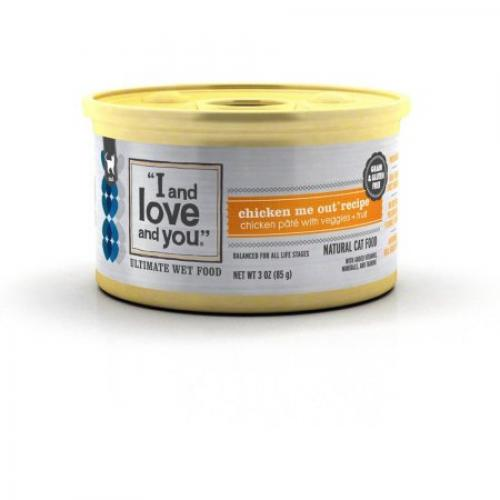 I And Love And You All Natural Canned Cat and Dog Food, 3 oz, 24-Pack