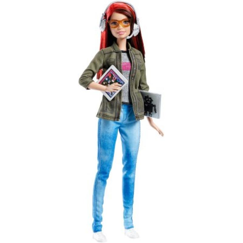 Barbie Game Developer Doll