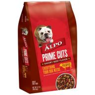 Purina ALPO Prime Cuts Savory Beef Flavor Dog Food 37 lb. Bag