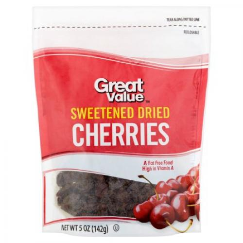 Great Value: Dried Cherries, 5 Oz