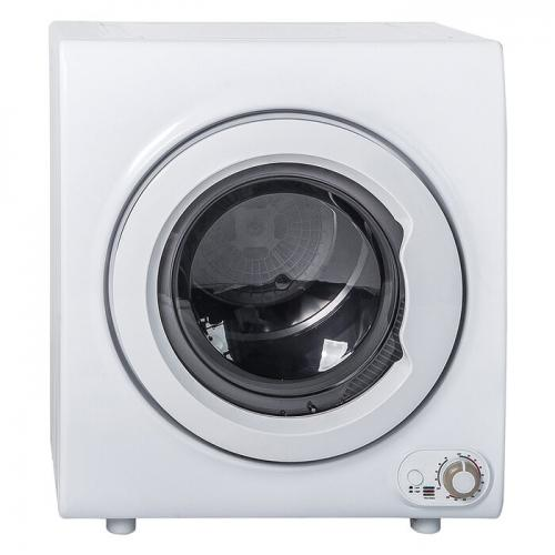 2.65 Cu. Ft Electric Stackable Dryer in White