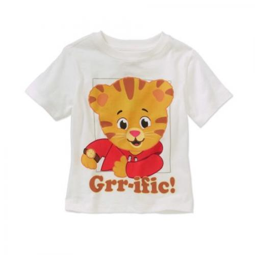 Daniel Tiger Toddler Unisex Grr-ific Short Sleeve Tee