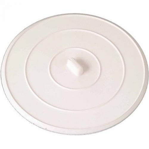 Flat Sink Stopper, White