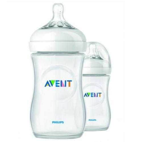Philips Avent SCF693/27 NATURAL 9oz, 2pk Bottle (PP)