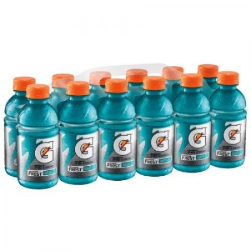 Gatorade Thirst Quencher Frost Sports Drink, Glacier Freeze, 12 Fl Oz, 12 Count