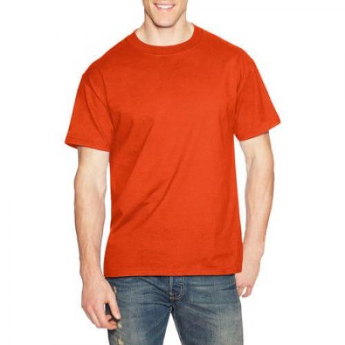 Hanes Men's Beefy-T Crew Neck Short Sleeve T-Shirt, up to 3XL