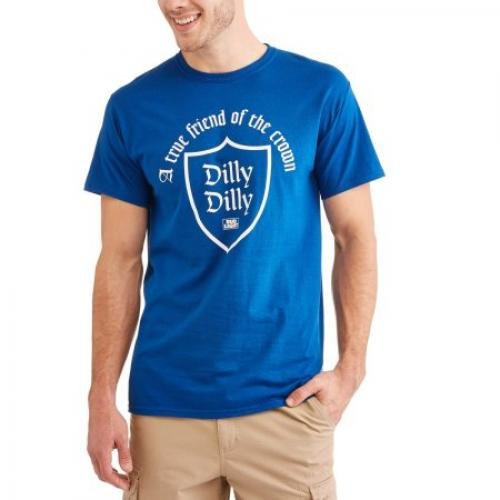 Bud Light Big Mens Dilly Dilly Friend Of The Crown Tee, 2XL