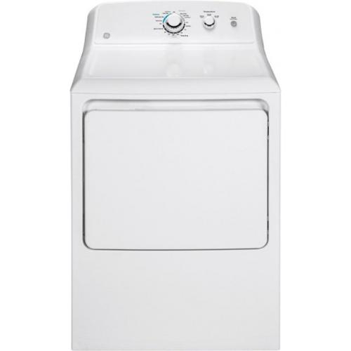 GE - 7.2 Cu. Ft. 3-Cycle Electric Dryer - White