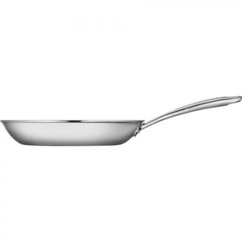 Tramontina 12 Tri-Ply Clad Open Frying Pan, Stainless Steel