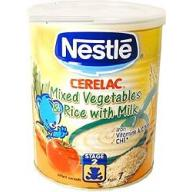 Nestle Cerelac - Mixed Vegetables and Rice with Milk - 400 gm Can