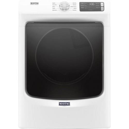 Maytag - 7.3 Cu. Ft. 10-Cycle High-Efficiency Electric Dryer - White