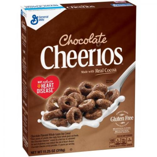 (2 Pack) Chocolate Cheerios Gluten Free Cereal, 20.3 Oz - $0.18/oz