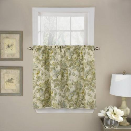 Waverly Spring Bling Window Curtain Tier Pair
