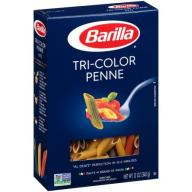 Barilla Tri-Color Penne Pasta, 12 oz