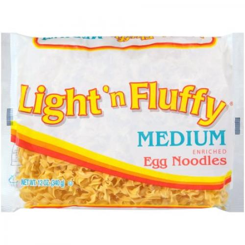 Light 'N Fluffy Medium Egg Noodles, 12 oz