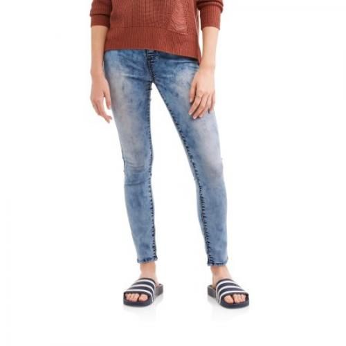 No Boundaries Juniors' Essential Pull-On Jeggings (Denim and Color Washes)