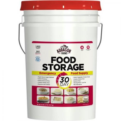 Augason Farms 30-Day Emergency Food Pail, 468.37 oz