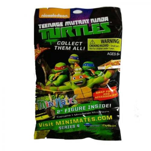 Minimates Series 4 Teenage Mutant Ninja Turtles Blind Bag Figure
