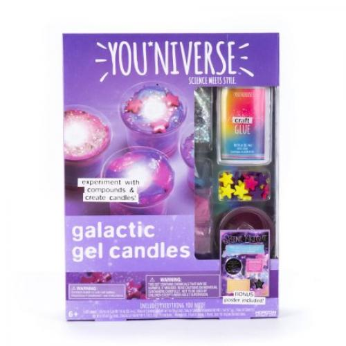 YOU*NIVERSE Galactic Gel Candles Kit by Horizon Group USA