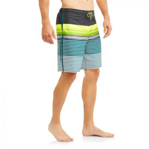 George Men's Stripe Eboard Swim Shorts