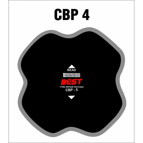 CBP 4 BIAS PATCH CLOTHBACK 10/BX