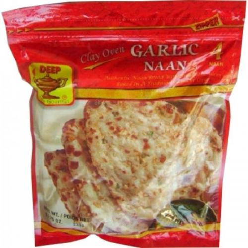 Deep Garlic Naan, 340G