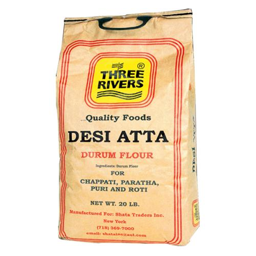Three Rivers Desi atta Floure (20lbs)