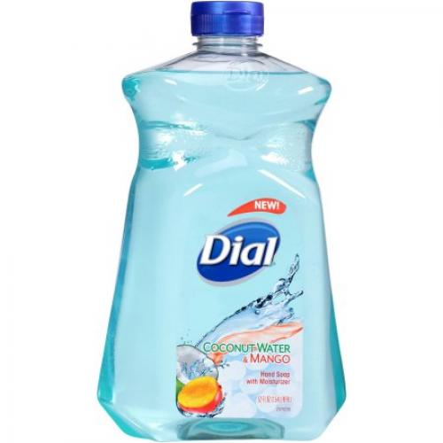 Dial Coconut Water & Mango Liquid Hand Soap Refill, 52 fl oz