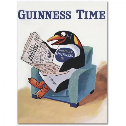 Trademark Fine Art Guinness Time II Canvas Art by Guinness Brewery