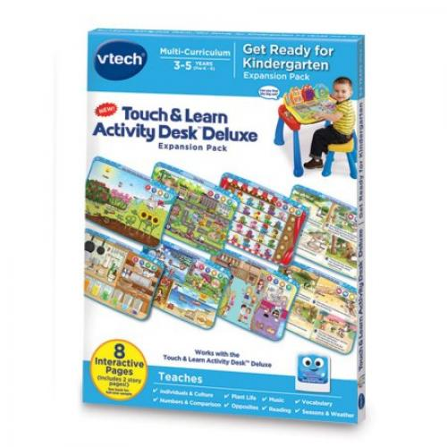 VTech Touch & Learn Activity Desk Deluxe - Get Ready for Kindergarten