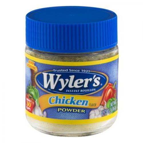 Wyler's Instant Bouillon Chicken Powder, 3.25 OZ