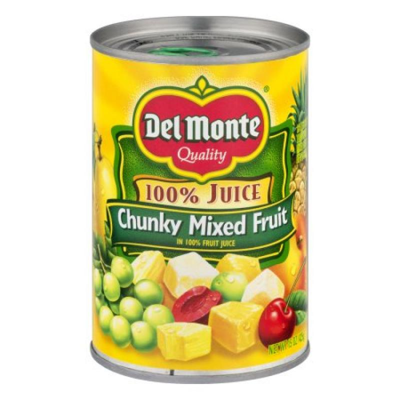 Del Monte Chunky Mixed Fruit in Juice 15oz