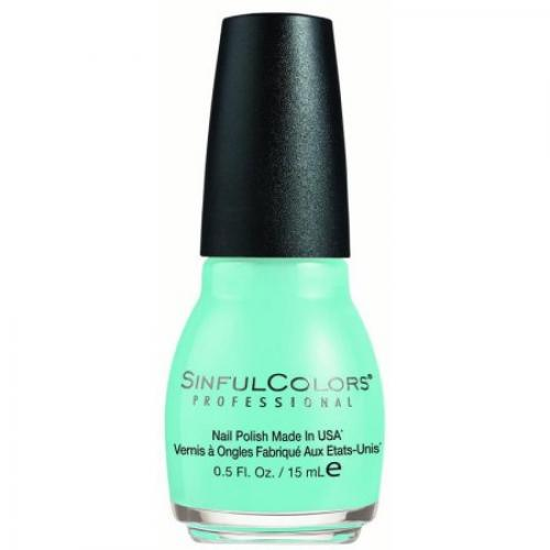 SinfulColors Nail Polish, Wonder Mint, 0.5 Fl Oz