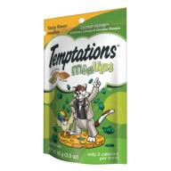 TEMPTATIONS MixUps Treats for Cats CATNIP FEVER Flavor 3 Ounces
