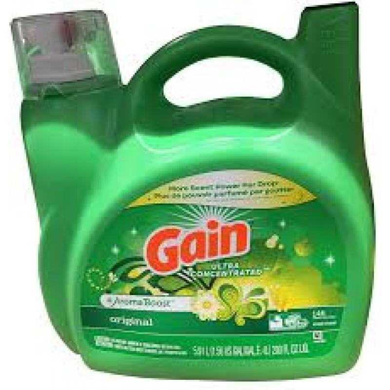 Gain Scent Blast Fiercely Fresh Liquid Laundry Detergent - 115 fl oz