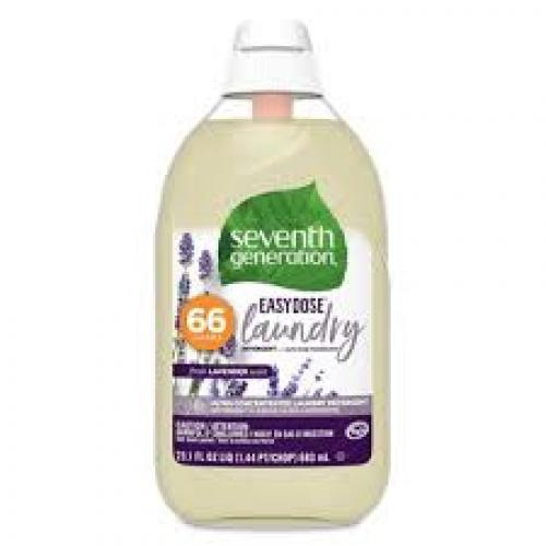 Seventh Generation EasyDose Ultra Concentrated Laundry Detergent - Lavender-23.1oz/66 Loads