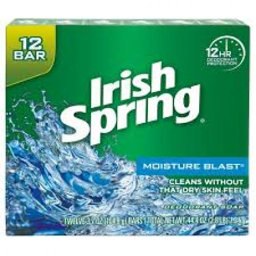 Irish Spring Moisturizing Bar Soap - Moisture Blast - 3.7oz