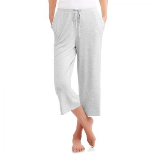 Secret Treasures Essentials Women's and Women's Plus Knit Capri Sleep Pant