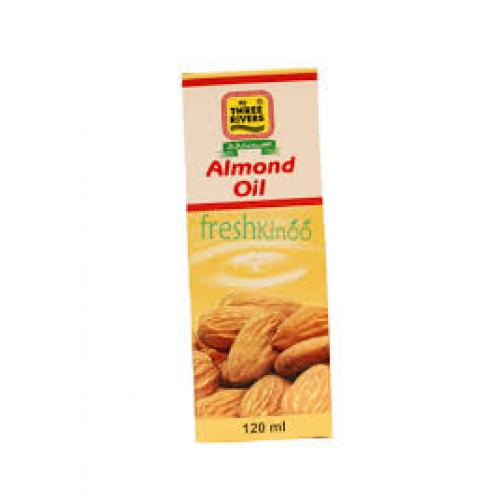 Three Rivers almond oil 120  ml