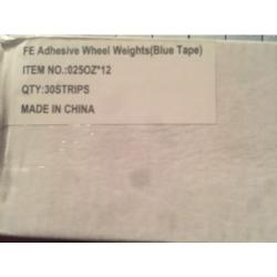 STICK ON WHEEL WEIGHT BALANCE STRIPS (900 oz)